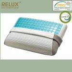 Traditional Pillow Blue Gel with triple fabric